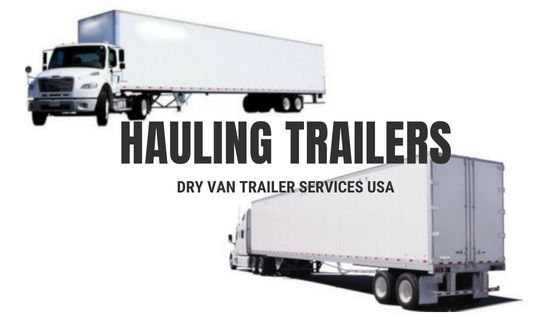 Dry Van Trailers Services USA
